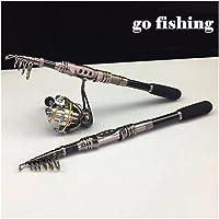 Caña de pesca aparejos de pesca giratorio pesca