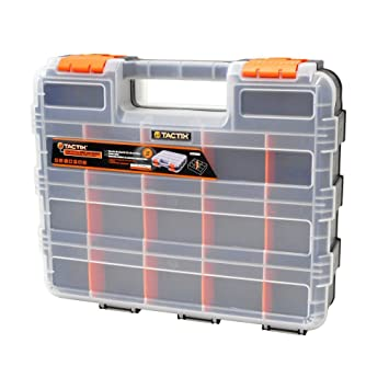 Small Parts Organizers: HDX Tool Storage Bins 12.5 In. 34 Compartment  Double