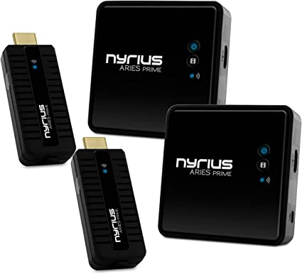 Angle HDMI Male to Female 360 Adapter For Nyrius Pro Wireless HDMI Transmitter