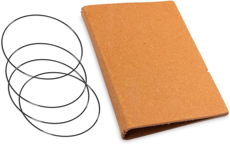 beschichtetes Lederfasermaterial Made in Germany X17-A5 3er H/ülle Leder-Fasermaterial Magente im A5 /Überformat 17 Jahre Garantie auf die H/ülle!