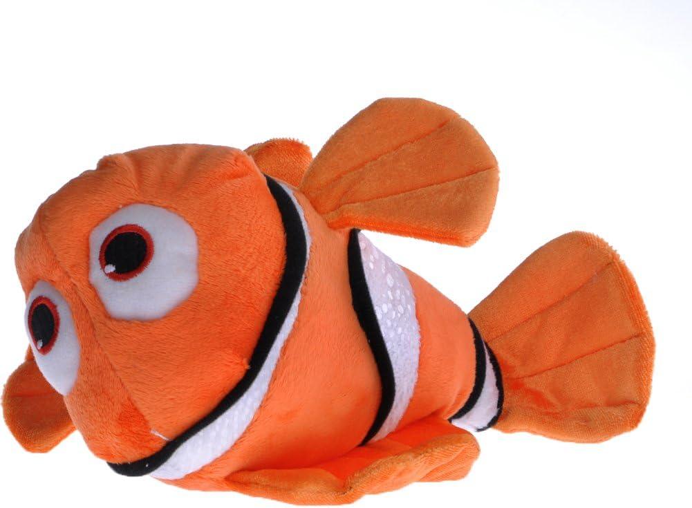 Made in USA Size Medium Orange Clownfish Nemo No Show Socks