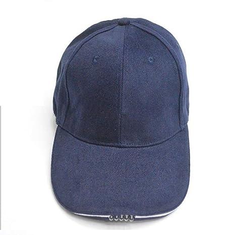 Denpetec Gorra de béisbol de 5 paneles, gorra de algodón ajustable ...