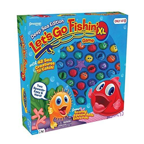 Pressman Let's Go Fishin' XL: Deep Sea Edition, Multicolor]()