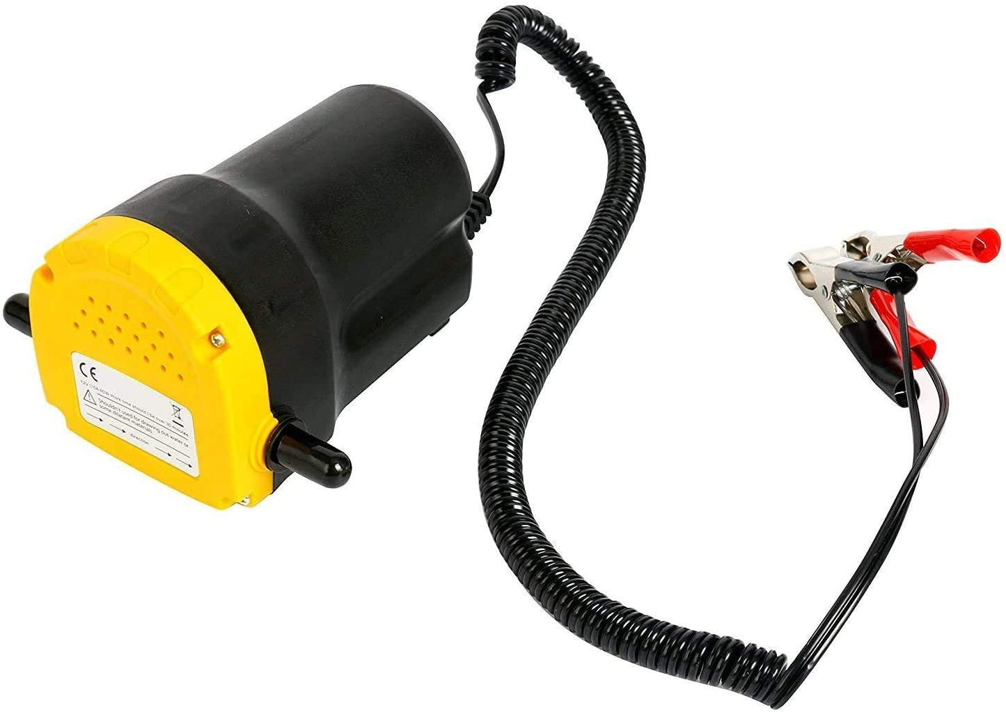 YaeTek Excellent 12v Motor Oil Diesel Extractor Scavenge Suction Transfer Change Pump