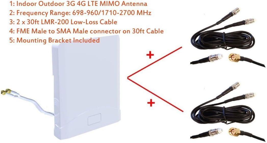 Antena MIMO de banda ancha para interiores y exteriores 3G 4G ...