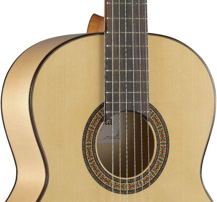 Alhambra 3F Guitarra de Estudiante, Flamenco, cedro canadiense ...