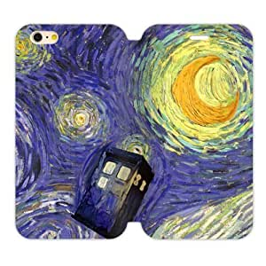 Fashion Tardis Doctor Who iPhone 5C Cell Phone Cases Cover Popular Gifts(Laster Technology)