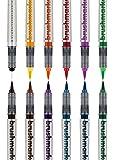 Karin 27C1 Brush Marker Pro Basic Colours Set Including Blender 12 Pieces