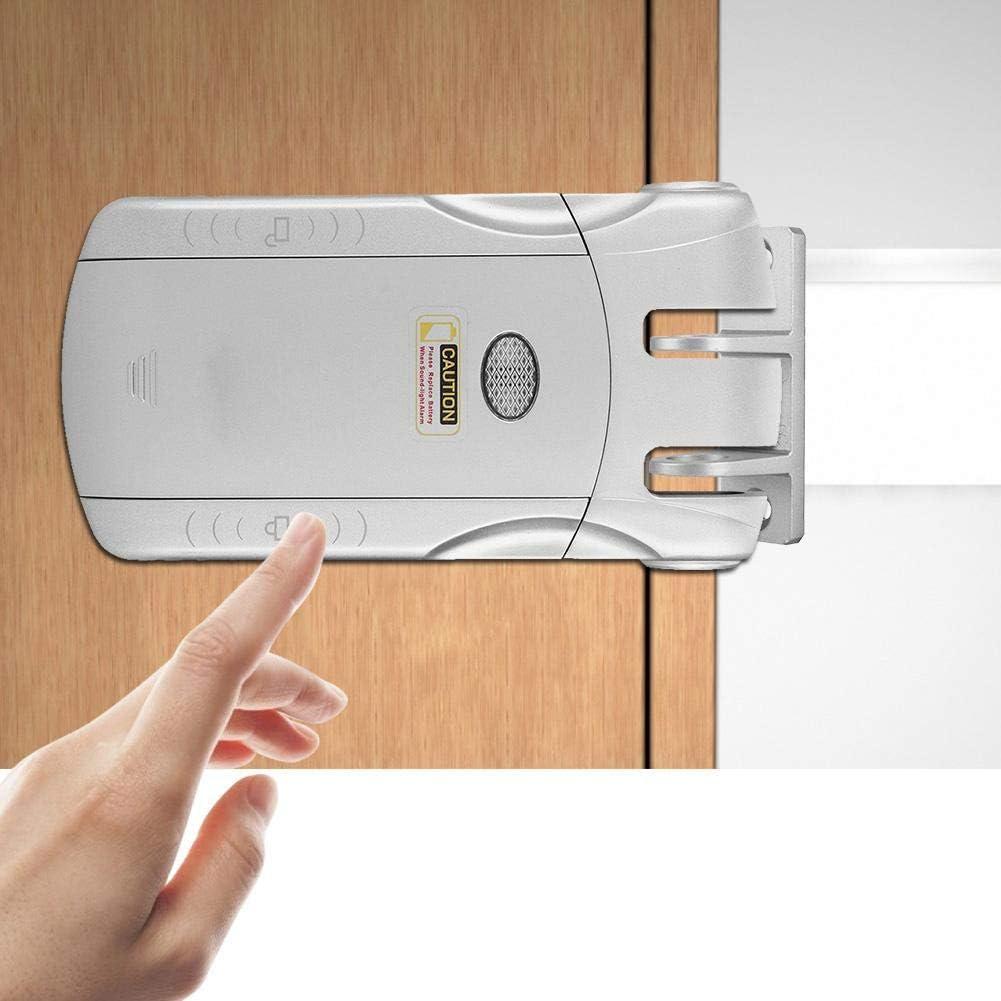 Huakii Keyless Electronic Door Lock Wireless Remote Control Touch Locked/&Unlock Smart Door Lock A