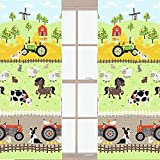 Apple Tree Farm Curtains 66 x 72 by Farm