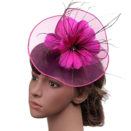 Weddings & Events British Style Fashion High Quality Bridal Feather Headdress European American Style Ladies Banquet Party Diy Hair Accessories 100% High Quality Materials