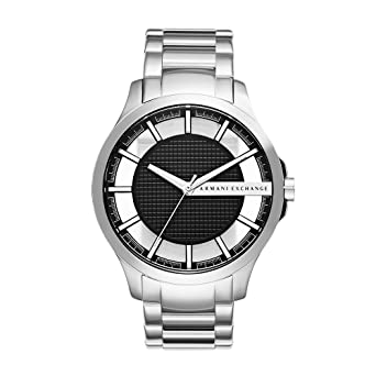 97bb0417949 Amazon.com  Armani Exchange Men s AX2179 Silver Quartz Watch  Armani ...