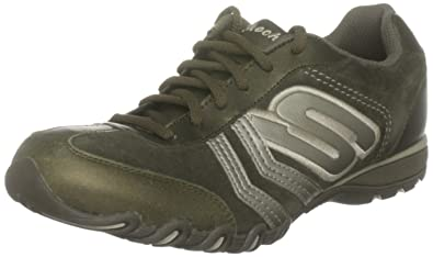 c175450fc09 Skechers Women s Speedster - Chillies Olive Casual Lace Ups 99999572 ...
