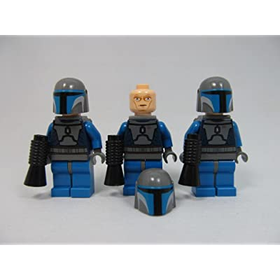 LEGO Star Wars Mandalorian Guard Lot (X3) Minifigures: Toys & Games