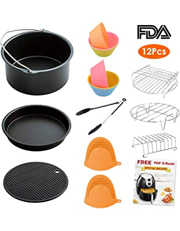 Air Fryer Accessories for Air Fryer, 9 pieces for Gowise Phillips and Cozyna Air Fryer