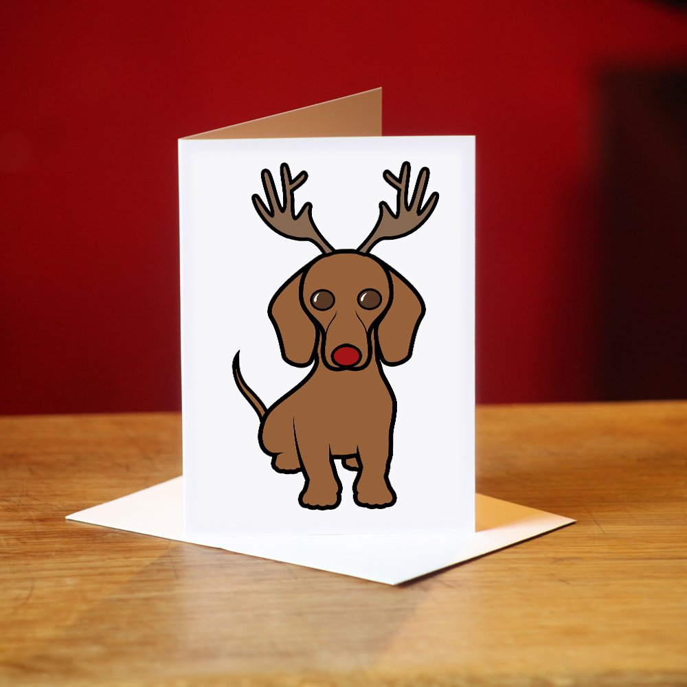 Dachshund christmas cards amazon kitchen home kristyandbryce Image collections