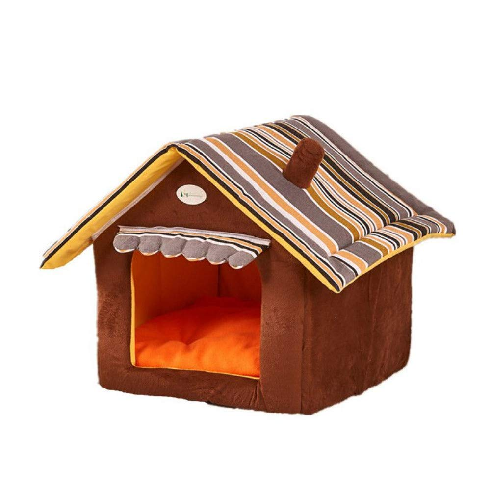 L WWSSXX Dog Bed Soft Kennel Kennel Pet Cat Puppy Home House Removable Products For Pets