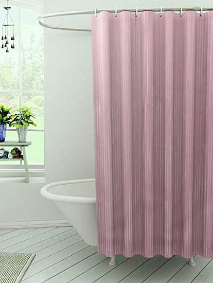 Kuber Industries PVC Shower Curtain