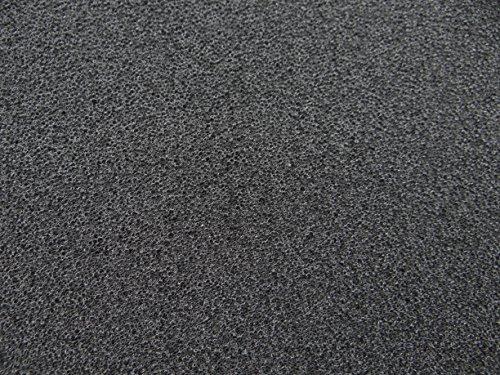 Filter zum Selber Zuschneiden PPI 60 schwarz sehr fein 1mx1mx3cm Filtermatte Filterschaum 1m x 1m Dicke 3cm Teichfilter Oasenfilter Bio Filter Fischzucht Teichfilteranlage Schaumstoff Filterung