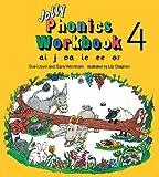 Jolly Phonics Workbook 4: ai, j, oa, ie, ee, or