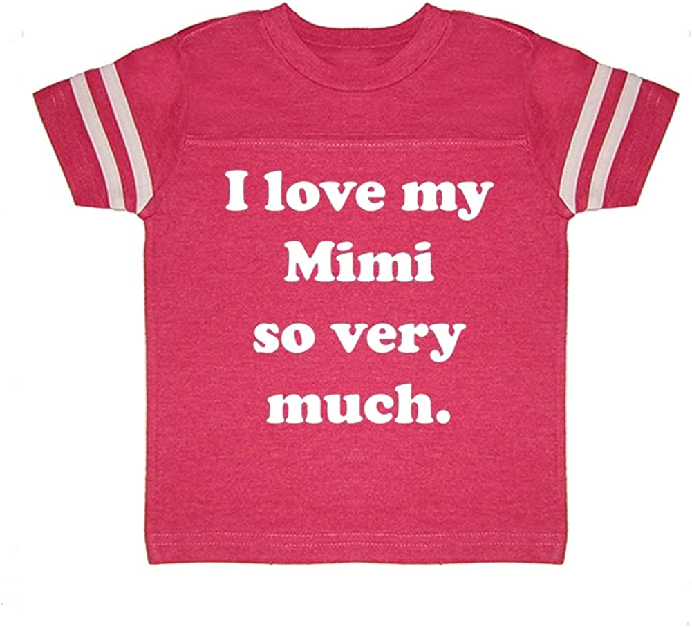 I Love My Mimi So Very Much Toddler//Kids Sporty T-Shirt