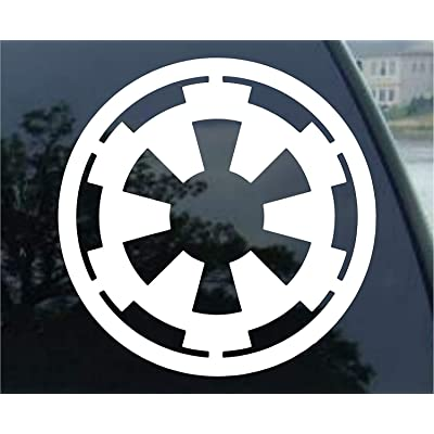 spdecals Star Galactic Empire Vinyl Decal Window Sticker: Automotive