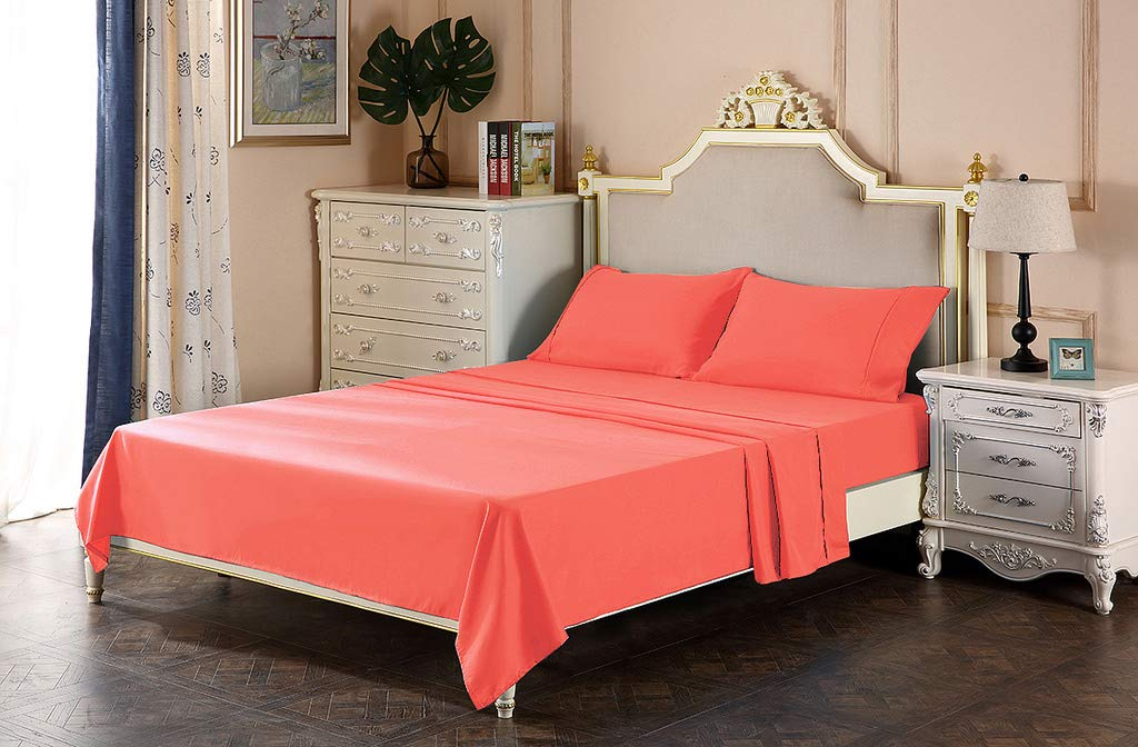 Lavish Linens 600 Thread Count 100% Cotton - Un-Attached Waterbed Sheet Super Single Size - Smooth & Soft Sateen Weave, Deep Pocket, Luxury Hotel Collection Bedding
