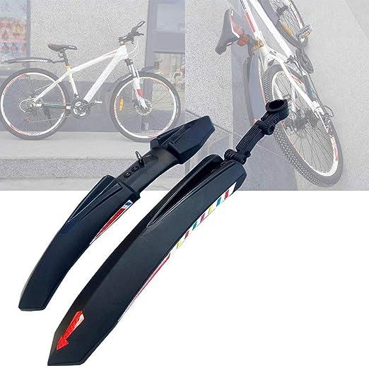 AHwjr Juego De Guardabarros para Bicicleta, Bicicleta Plástico ...