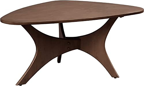 INK IVY Triangle Wood Coffee Accent Table