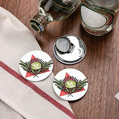 Abrebotellas, abridor de vino italiano de color vintage, imanes de nevera, abridor de botellas con una sola mano, sacacorchos, 2 piezas