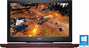 "Dell Inspiron 15.6"" FHD gaming Laptop Intel Core i5-7300HQ 8GB NVIDIA GeForce GTX 1050, 1TB + 8GB Hybrid Hard Drive, Black"