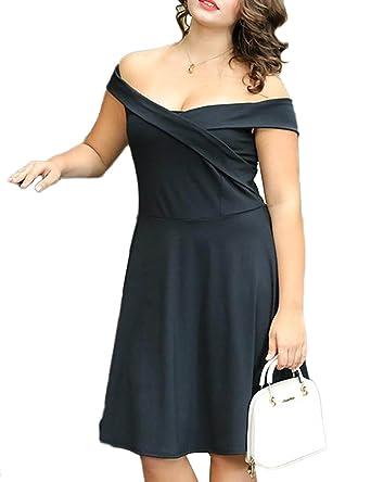 2018 Short Little Black Dress Plus Size Knee Length Satin ...