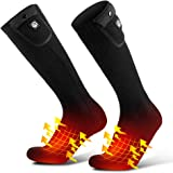 Savior 7.4 V Battery Heated Socks Unisex Cotton Warm Thick Socks For Winter Out Door Sports,work up to 4-8 hours