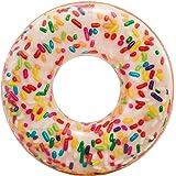 Intex - Rueda hinchable Donut de colores - 114 diámetro (56263)