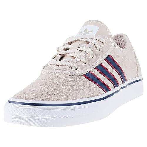 Adidas Adi-Ease, Zapatillas de Skateboarding para Hombre, Varios Colores (Carnoc/Negbas/Ftwbla), 43 1/3 EU