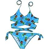 Femmes push-up rembourré soutien-gorge Split maillots de bain [ maillot de bain femme 2 pieces ]