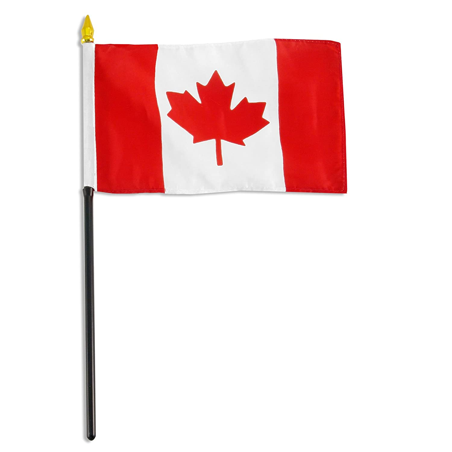 amazon com us flag store canada flag 4 by 6 inch outdoor