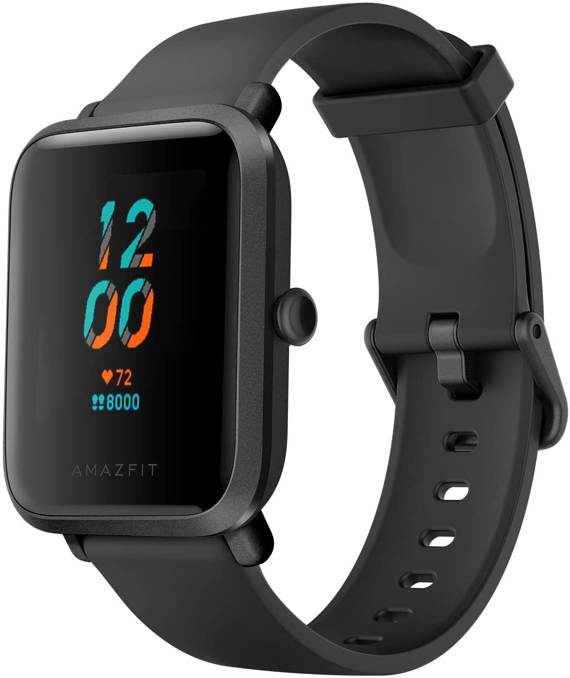 Amazfit Bip S Smartwatch Reloj Inteligente Fitness Rastreador con Monitor cardíaco y Gimnasia batería útil de 40 días duración Sumergible 5 ATM Bluetooth 5.0 / BLE Andriod iOS Negro