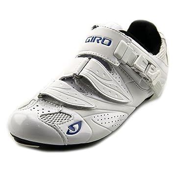 GIRO Espada Zapato Ciclismo Carretera, Blanco/Azul, 36.5: Amazon.es: Zapatos y complementos