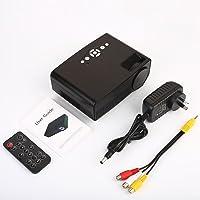 4K 3D HD Proyector Inteligente 4K 3D Full HD Proyector 3000LM S280 Smart Home Theater USB SD AV HDMI HD 3000 lúmenes LCD Mini proyector,