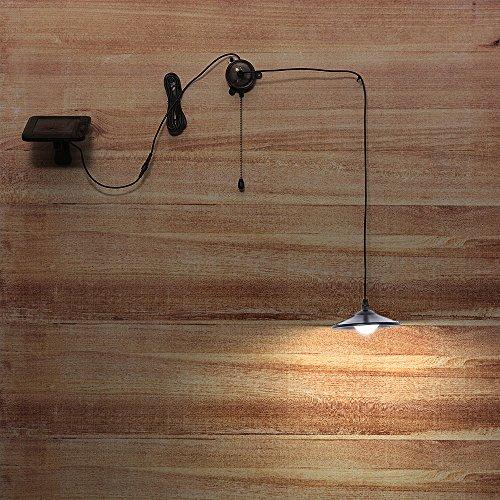 Lixada Solar Pendant Light