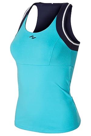 Naffta Tenis Padel - Camiseta Asas para Mujer, Color Turquesa/Marino, Talla S: Amazon.es: Deportes y aire libre