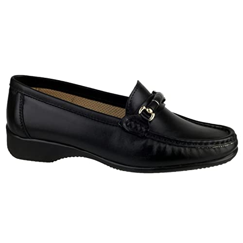 Cotswold Cotswold Barrington Women's Loafer Black Size 36 HSVVSe286