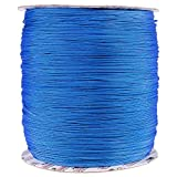 PARACORD PLANET 1.8 MM Dyneema Speed Lace - 10 Feet - Blue Color - Unbreakable and Lightweight Fiber