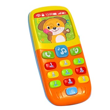 Early Education 6 Month Year Olds Baby Toy Tiny Touch Phone Musical