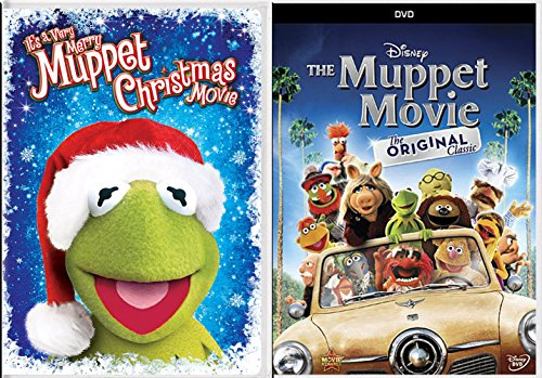 Holiday's With Kermit Double Feature DVD It's a Very Merry Muppet Christmas & The Original Classic Movie Double Feature Set