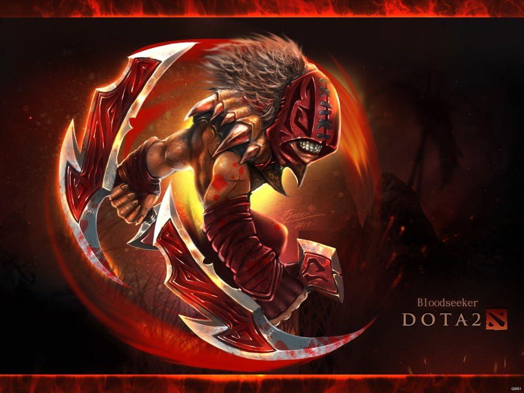 Amazon Com Dota 2 Defense Of The Ancients Hero Bloodseeker