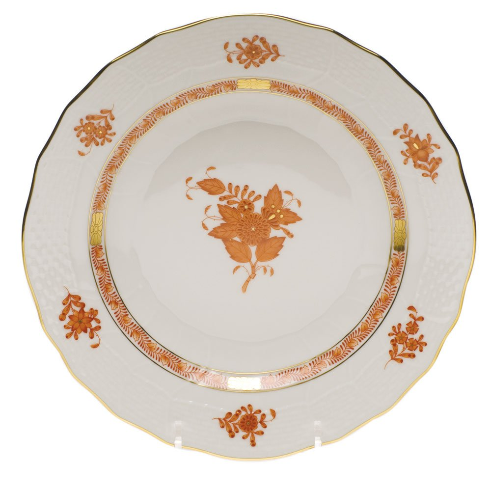Herend Chinese Bouquet Rust Dessert Plate by Herend (Image #1)