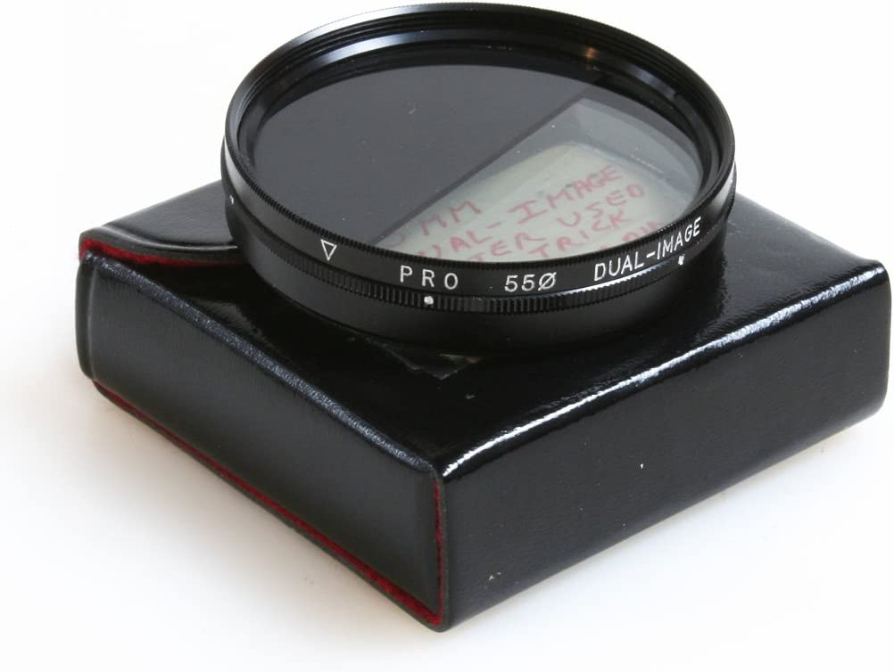 55MM Dual Image Filter W//CASE