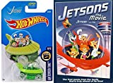 Hanna-Barbara The Jetsons movie & Hot Wheels Capsule car spaceship 2-pack cartoon with toy